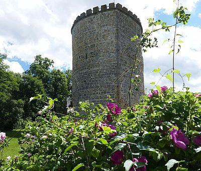 Die Gaststätte Burg Ravensberg ist in dem historischen Gasthaus des preußischen Baumeisters Karl Friedrich Schinkel am Bergfried der Burg Ravensberg beheimatet.