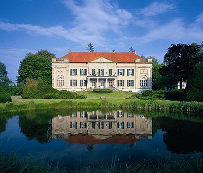 Blick auf Schloss Harkotten